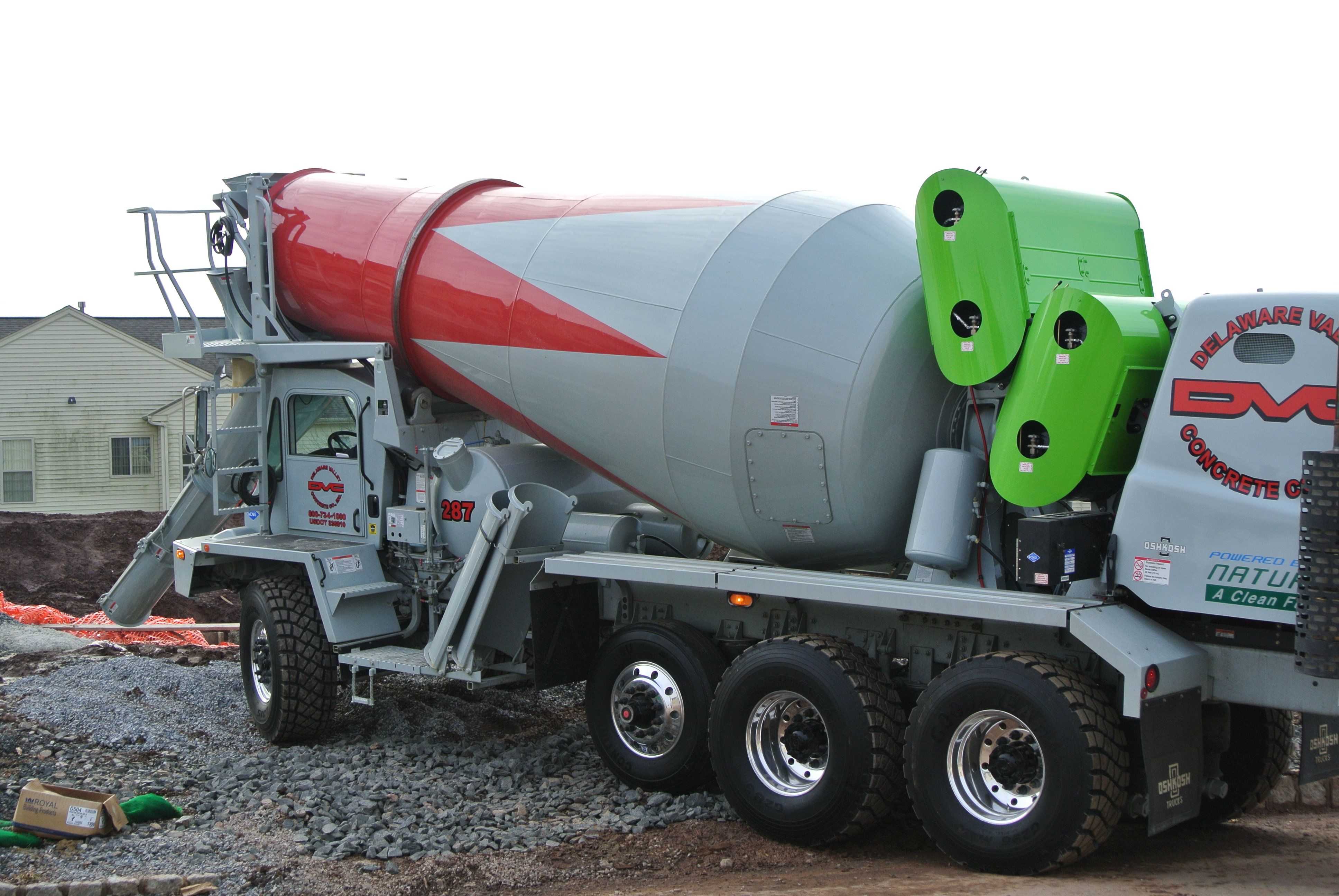 Natural Gas Mixer ~ From gray to green site title