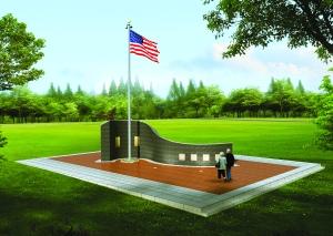 Veterans Square artist rendering