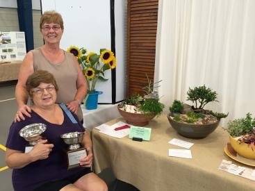 Hazel Downes and Ruth Aumann